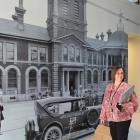 Operations manager Sally McDonald in the heritage display area, still  under construction. Photos...
