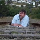 Oamaru man Glen Hollis wants a South Island passenger rail service reinstated. Photo by David Bruce.