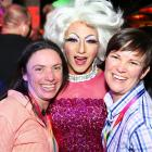 Organisers Sally Whitewoods (left) and Mandy Whitewoods with Little Miss Cinnamon (centre) at the...