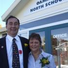 Oamaru North School principal Ross Willcocks and his wife, Lois, are moving to Dunedin and...