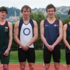 Otago athletes in the New Zealand Schools team include, from left, Anna Kean (13), Fran Myers...