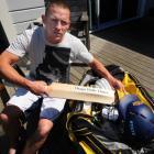 Otago captain Craig Cumming packs his kit bag ahead of the State Shield semifinal against...