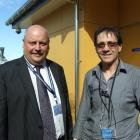 Otago Corrections Facility manager Jack Harrison (left) and Care NZ clinical manager Kevin Pearce...
