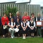 Otago Corrections Facility nurses celebrate their accreditation from the Royal New Zealand...