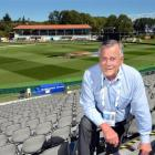 Otago Cricket chief executive Ross Dykes relaxes yesterday ahead of today's ICC Cricket World Cup...