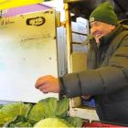 Otago Farmers Market founding vendor Ray Goddard said selling vegetables at the market for the...