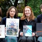 Otago Girls High School entrants for the St Matthew's Anglican Church secondary schools art...
