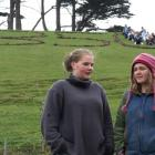 Otago Girls' High School environmental leaders Elizabeth Rudd (17, left) and Rosina Scott-Fyfe ...