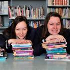 Otago Girls' High School pupils (from left) Jisu Lee, Olivia Severins, Beth Chapman and Taryn...