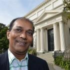 Otago Museum chief executive Shimrath Paul prepares to leave the Otago Museum. Photo by Stephen...