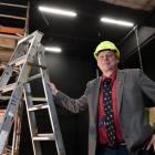 Otago Museum director Dr Ian Griffin stands in what will soon be Dunedin's world-class...