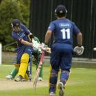 Otago opener Aaron Redmond sweeps for four on his way to 100 not out in the twenty/20 match...