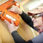 Otago Polytechnic carpentry lecturer Jo Hare is part of a move by the tertiary institute to...