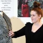 Otago Polytechnic fashion design student Amy Hutchinson (20) says iD Dunedin Fashion Week gives...