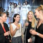 Otago Polytechnic fashion design students (from left) Ivy Jackson-Mee (20), Letitia Powell (21),...