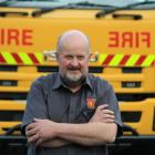 Otago Rural Fire Authority equipment and maintenance officer Ian Rietveld  stands in front of a...