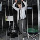 Otago University Students Association president Logan Edgar contemplates life behind bars in his...