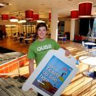 Otago University  Students' Association president Logan Edgar in the main common room area of the...