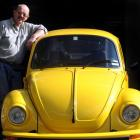 Otago VW Enthusiasts Club patron Ken Berry's 1973 VW Beetle will be one of the more than 140 VWs...