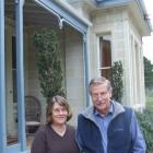 On the move... Lyn and Mike Gray have sold Tokarahi Homestead.  Photo by Sally Rae
