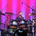 Oxo Cubans drummer Marcel Rodeka performs at the Mayfair Theatre earlier this year. Photo by...