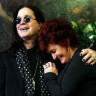 Ozzy and Sharon Osbourne.  REUTERS/Mario Anzuoni/Files