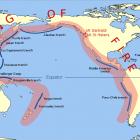 Pacific ring of fire. Supplied image.