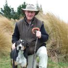 Palmerston farmer Lloyd Smith and heading dog Ace (3) won a title at the Tux New Zealand sheep...