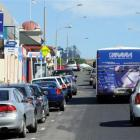 Parking can be difficult to find along Mailer St, in Mornington, where commercial business...