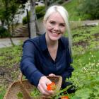 Part of Penelope Baldwin's ethos is foraging for herbs and plants to use in her products.  Photo:...