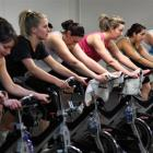 Participants in an RPM class at Alpine Health and Fitness. Tomorrow the Queenstown Lakes District...
