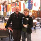 Pasta Cafe volunteers Nick and Jo Clark. Photo by Joanne Carroll.