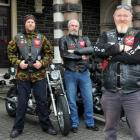 Patriots Motorcycle Club members (from left) Steve Chester, Jimi Napier, Anthony Kenny, Phil...