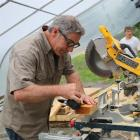 Paul DiMeo stars in Building Wild. Photo supplied.