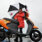 Peter Donaldson ponders the prospect of crossing the Southern Alps on a 50cc Suzuki scooter. ...