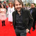 Peter Jackson on the red carpet at the NZ premiere of The Lovely Bones in Wellington on December...