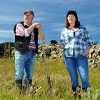 Phil Vaughan and Lara Macgregor, partners off stage, play farming neighbours Anthony and Rosemary...