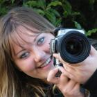 Photographer Allesha Ballard (17), of Seaward Downs, behind the camera. Her skills have led to...
