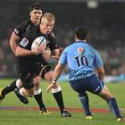Pieter-Steph du Toit of the Sharks in action against the Bulls at in Durban, South Africa. (Photo...