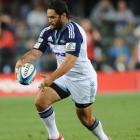 Piri Weepu of the Blues in action against the Stormers in Cape Town last weekend. (Photo by Peter...