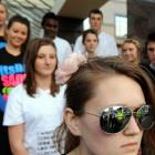 Bayfield High School chairwoman of Students Against Driving Drunk, Emily-Kate Robertson (17,...