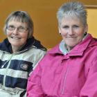 Edna Smart, of Ettrick, and Rose  McDonald, of Dunedin.