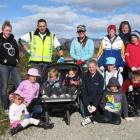 Preparing to spring clean the Lake Dunstan foreshore on Saturday are members of the Hut Youth...