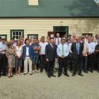 Preservation society members, tradespeople, trust representatives and guests, including Prime...