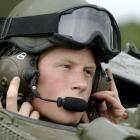 Prince Harry, seen here undergoing instruction in an armoured vehicle in 2007, has qualified as...