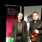 Prof Brian Forster and violinist Jack Liebeck bring music and the universe to the Glenroy...