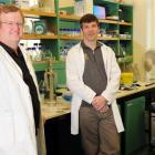 Prof Dave Grattan (left), Dr Colin Brown and Dr Victoria Scott, of the University of Otago Centre...