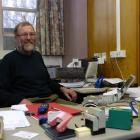 Prof John Langley in his Frederick St office. Photo by Jane Dawber.