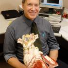 Prof Mark Richards, a cardiologist at the University of Otago's Christchurch campus, who has just...
