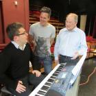 Professor Emeritus John Drummond (right), who is directing two operettas for Opera Otago _ his...
